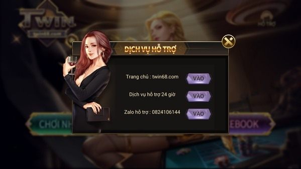Hỗ trợ game TWIN
