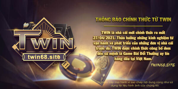 Cổng game uy tín TWIN
